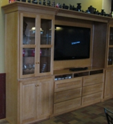 Entertainment Wall Cabinet