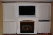 Fireplace Surround, Side & Upper Cabinets-01